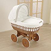Leipold Amadeus Wicker Hood Crib