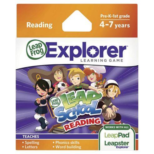 LeapFrog Explorer(tm) Learning Game: LeapSchool Reading