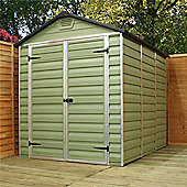 Buy plastic sheds from our garden sheds range tesco for Garden shed tesco