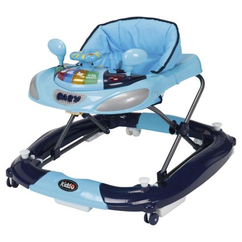 Kiddu 2in1 Harley Baby Rocker-Walker, Blue
