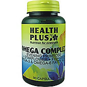 Health Plus Omega Complex Epo And Starflower And Fish Oils 90 Capsules