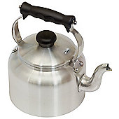 Mermaid Traditional Aluminum Ground Base Kettle in Satin - 3 Litre