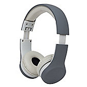 Snug Play+ Kids Headphones Volume Limiting and Audio Sharing Port (Grey)