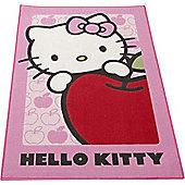 Hello Kitty Apple Rug