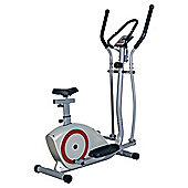 2-in-1 Cross Trainer & Exercise Bike