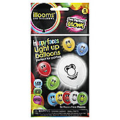 ILLOOM Balloon Happy Faces 5pk