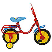"Disney Mickey Mouse 10"" Kids' Bike with Stabilisers"
