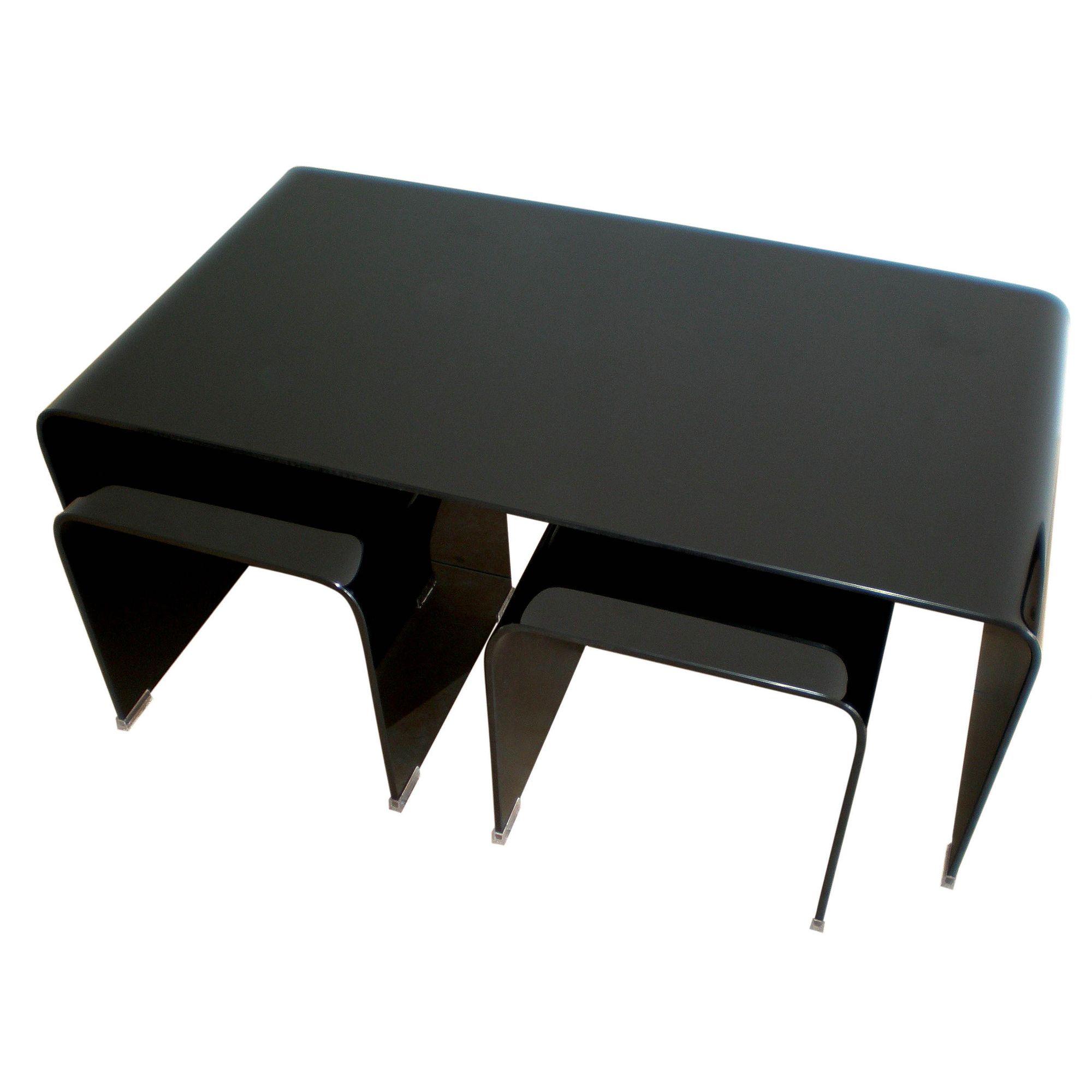 Premier Housewares Long John 3 Piece Nest of Tables at Tesco Direct