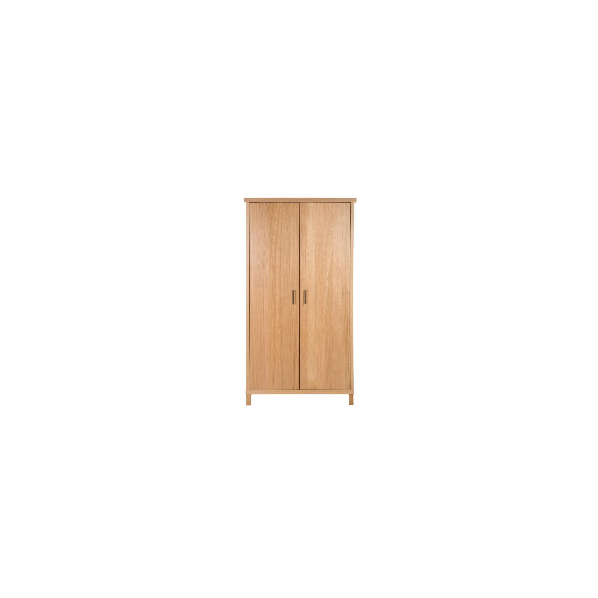 Urbane Designs Vettori Oak Bedroom 2 Door Wardrobe at Tescos Direct