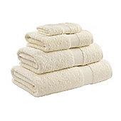 Catherine Lansfield Home Egyptian towel hand towel, 50x85, cream