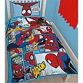 Spiderman Thwip Single Panel Bedding