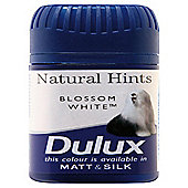 Dulux Tester Natural Hints Blossom White 50ML