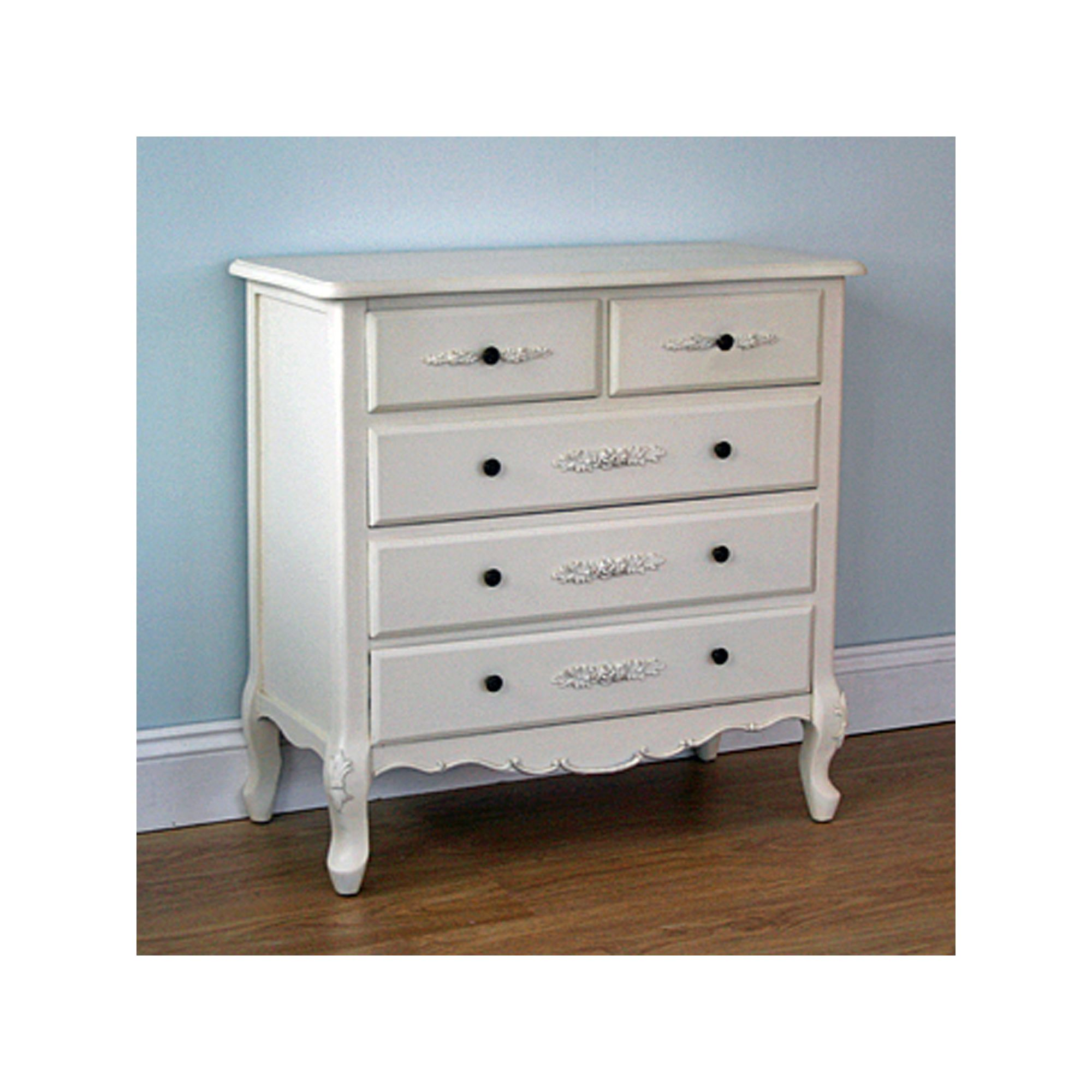 Originals Versaille 5 Drawer Chest at Tesco Direct