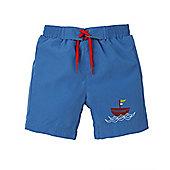 Mothercare Woven Swim Shorts - Blue