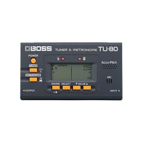 Boss TU-80 Tuner and Metronome