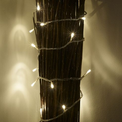 Buy 20 warm white led battery fairy lights from our all christmas
