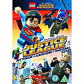 Lego DC Justice League: Attack Of The Legion Of Doom DVD