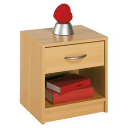 Altruna Bellport 1 Drawer Bedside Table
