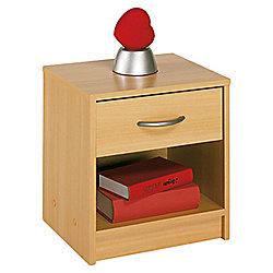 Altruna Bellport 1 Drawer Bedside Table