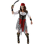 Pirate Woman Costume Large