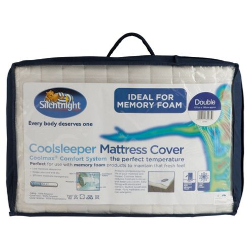 Silentnight Coolsleeper Double Mattress Cover