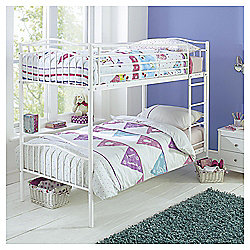 Paige Bunk Bed, White
