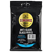 Simoniz Anti-Glare Glass Wipes, 20 pack