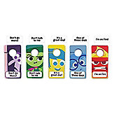 Disney Inside Out My Emotion Door Hangers