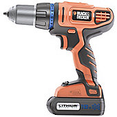 Black & Decker Combi drill 13mm keyless chuck 18v HP188F4LK