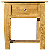 Home Zone Furniture Lincoln Oak 2009 Small Console Table