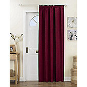 Curtina Kent Lined Door Curtain - Red