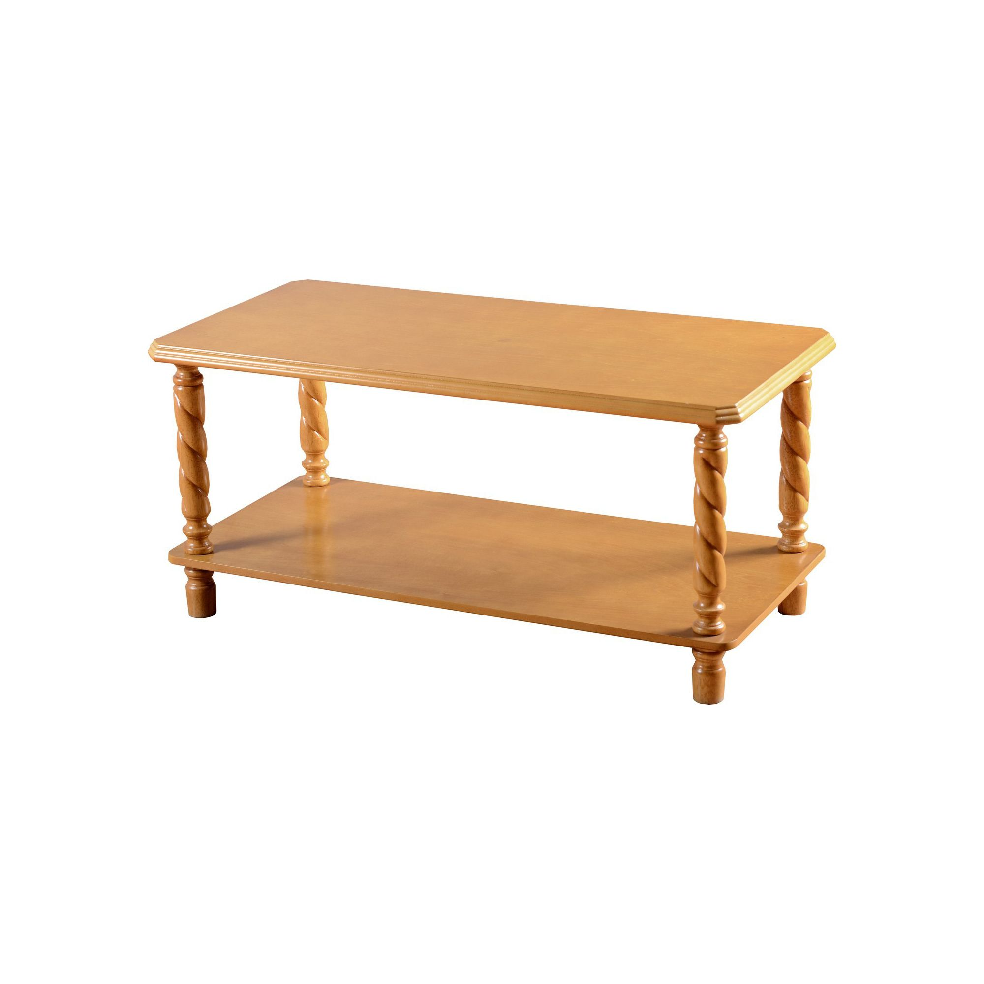 Home And Garden Furniture Home Essence Jersey Coffee Table In Antique Pine Finish Special
