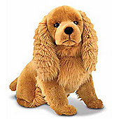 Melissa And Doug Cocker Spaniel Soft Soft Toy Cuddly Toy Dog