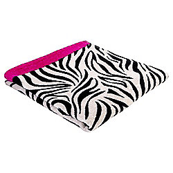 Tesco Zebra Print Beach Towel
