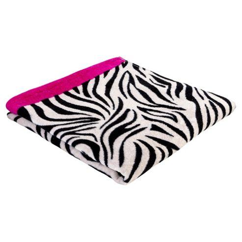 Tesco Zebra Print Beach Towel