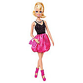 Barbie Glam Party Black & Pink Doll