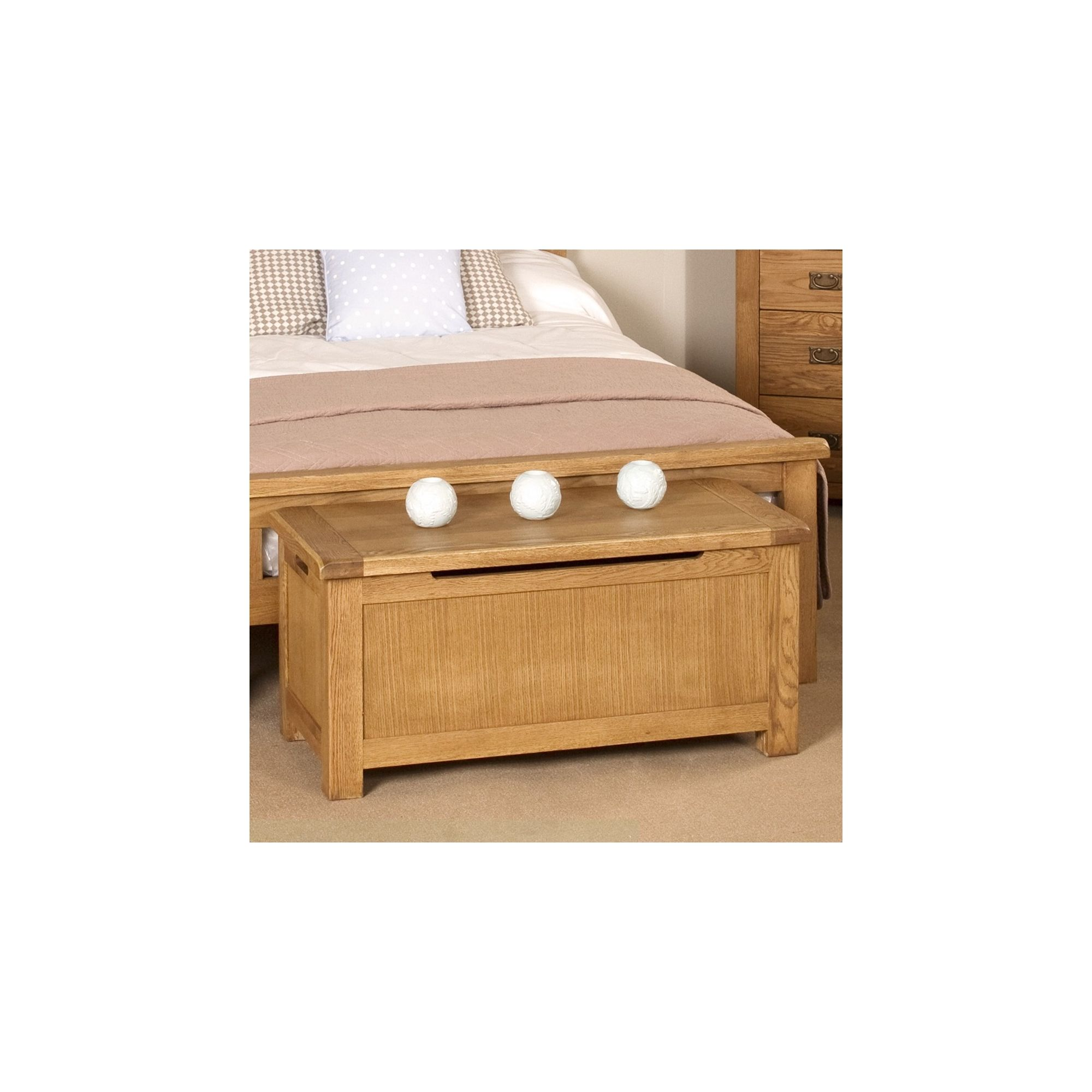 Elements Woodville Blanket Box at Tesco Direct
