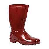 Rain Womens Ladies Wellington Boots Waterproof Soft Lined Festival Wellies DD