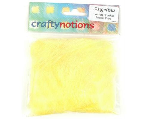 Angelina Fusible Fibre - Lemon Sparkle