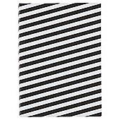 Monochrome B6 Stripe Notebook
