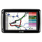 "Mio 695 LTM Sat Nav, 5"" LCD Touch Screen, UK Lifetime Maps & Traffic"