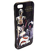 Star Wars Personalised iPhone 5/5s Cover - Force Awakens Droids