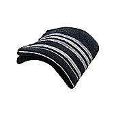 Catherine Lansfield Java Stripe Bath Towel - Black