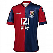 2013-14 Genoa Lotto Home Football Shirt - Red