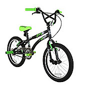 "X-GAMES BMX FS 18"" BLACK/GREEN"