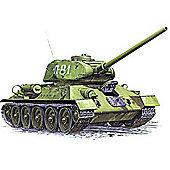 T-34/85 Soviet Medium Tank - 1:35 Scale - Model Kit - 3533 - Zvezda