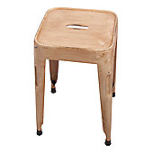Ian Snow Retro Stool - Cream