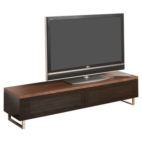 Techlink Panorama TV Stand - Walnut