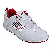 Woodworm Surge Casual Spikeless Street Golf Shoes - White