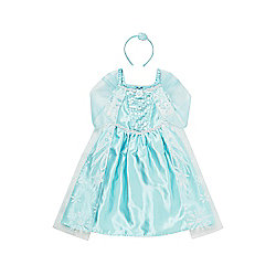 Disney Frozen Elsa Dress-Up Costume years 05 - 06 Blue
